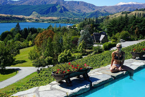 Gemma McCaw posted this photo of the couple's honeymoon location, Stoneridge Estate in Central Otago. Photo / Instagram