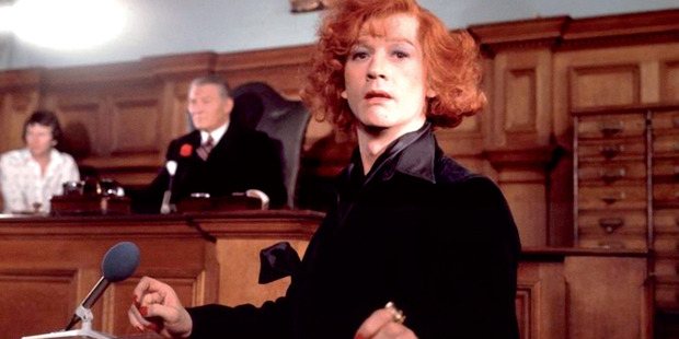 John Hurt as Quentin Crisp in The Naked Civil Servant. Photo / Supplied