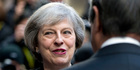 """President Donald Trump has taken to calling Prime Minister Theresa May """"my Maggie"""" in reference to the close Thatcher-Reagan relationship he wants to recreate, according to sources. Photo / AP"""