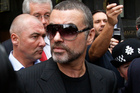 British singer George Michael leaves pleaded guilty in a London court to two drug offenses. Photo / AP