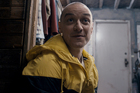James McAvoy in a scene from the film, Split. Photo / AP