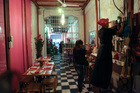 Inmates work in the dining room of the Interno restaurant at the San Diego prison, in Cartagena, Colombia. Photo / AP