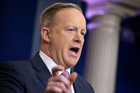White House press Secretary Sean Spicer. Photo / AP