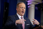 White House press Secretary Sean Spicer made two unprovable statements in his briefing with reporters. Photo: AP/Evan Vucci