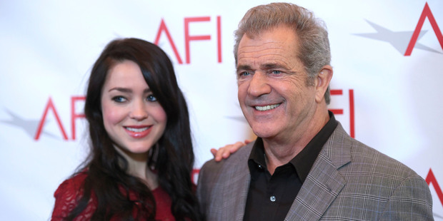Despite a 35-year age gap, Rosalind Ross and Mel Gibson have had a baby. Photo / AP