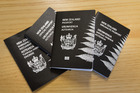 New Zealand passport specimens. Photo / Mark Mitchell