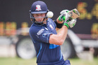 Martin Guptill was in the runs for Auckland as he prepares for the series against Australia. Photo / Greg Bowker