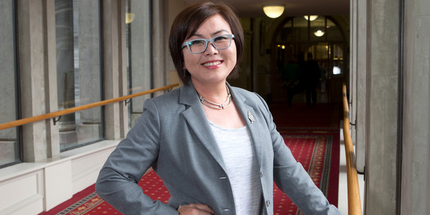 Melissa Lee is one of five National MPs to be given Parliamentary private secretary roles by Prime Minister Bill English. Photo / Mark Mitchell