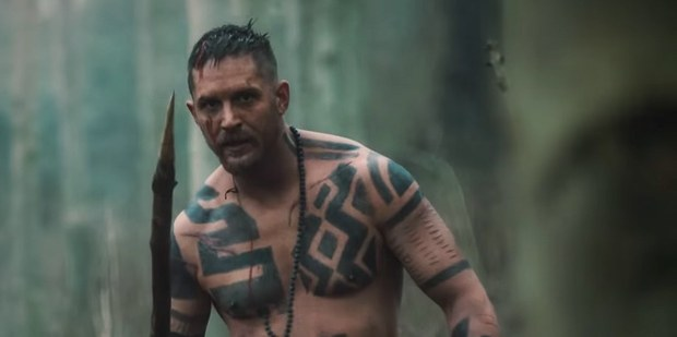Loading Tom Hardy in a scene from his new SoHo TV show Taboo. Photo/Supplied