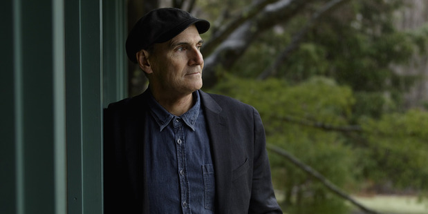 James Taylor recorded his first album alongside The Beatles in 1968.