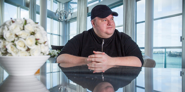'I saw it coming and that's why we moved to New Zealand,' says Kim Dotcom. Photo / Greg Bowker