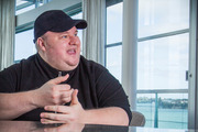 Kim Dotcom may be engaged to girlfriend Elizabeth Donnelly. Photo/file