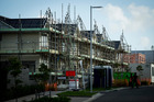 Construction of a new housing development at Hobsonville Point, Auckland. April 2016 New Zealand Herald Photograph by Dean Purcell.