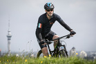 Michael Brown on a training ride ahead of the seven-day Pioneer mountain bike race. Photo / Greg Bowker