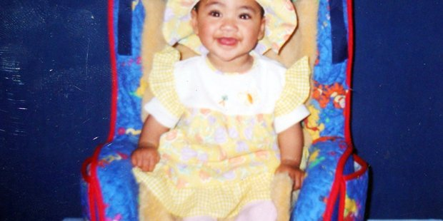 Nia Glassie, the 3-year-old toddler who was subjected to horrific abuse by her extended family. Photograph supplied.