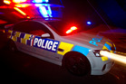 Two men stole a bag filled with shoes and socks after an aggravated robbery in Dunedin.