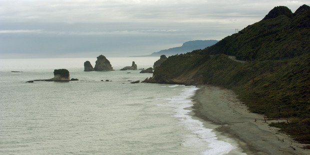 Police officers have been focusing on the Punakaiki to Fox River area over the past two days as they continue to look for Shelly Crooks. Photo / File