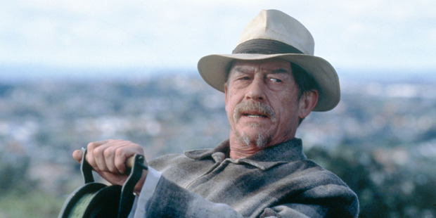 Double Oscar-nominee John Hurt. Photo / Supplied