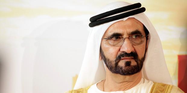 Loading Sheikh Mohammed bin Rashid Al Maktoum, the ruler of Dubai. Photo / Bloomberg