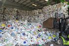 An estimated  about 8 million tonnes of waste plastic goes into the world's oceans every year. Photo / File