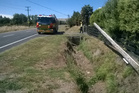 Hastings fire service respond to a report of a line down in Hastings..