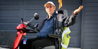 Wayne Sykes, Napier, is angry after being denied an ice cream at McDonalds Napier for riding his scooter in the drive-through. Photo/Warren Buckland