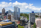 The proposed St James Suites on Auckland's Queen St. Photo / File