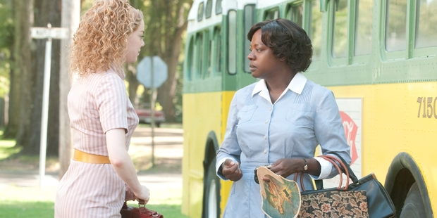 Emma Stone (left) and Viola Davis starred in The Help, a film which depicted the lives of black maids in Mississippi in the early 1960s.