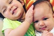 Three-month old Zachary Bryant (right) pictured with his sister Zara, died at Melbourne's Royal Children's Hospital from the injuries he suffered. Photo / Supplied