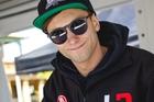 Kiwi Andre Heimgartner is chasing potential sponsors. Photo / Simon Chapman