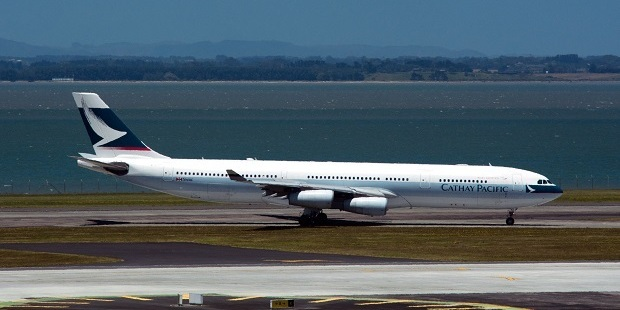 Cathay Pacific's A340. Photo / 123RF
