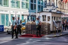 Checkpoint C (Charlie) was the crossing diplomatic personnel, US military and non-Germans used to get into East Berlin. Photo / 123RF