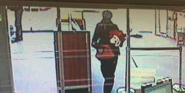 Another image released by police after the Kiwibank Bush Inn robbery. Photo / NZ Police