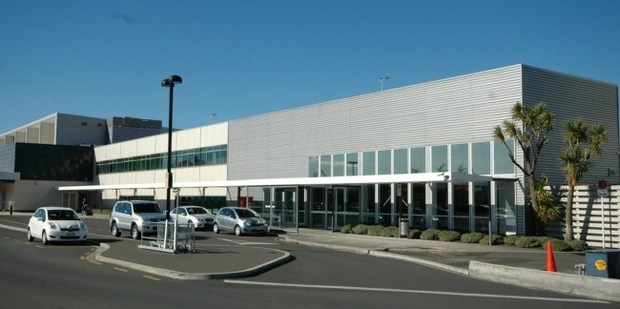 Dunedin Airport where there was a reported incident today. Photo / Stevenson & Williams