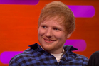 Ed Sheeran on The Graham Norton Show. Photo / YouTube