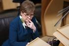 Scottish First Minister Nicola Sturgeon. Photo / AP