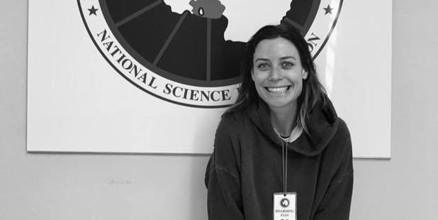 Gin Wigmore was all smiles as she got ready to head to Antarctica earlier this month. Her live concert will be broadcast live this morning. Photo / Gin Wigmore/Facebook