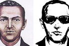 Sketches of the skyjacker known as