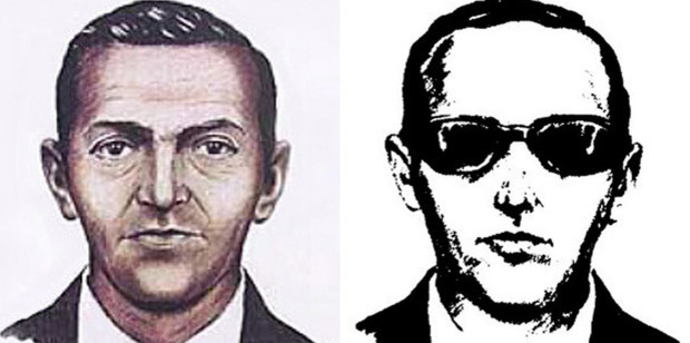 """Loading Sketches of the skyjacker known as """"Dan Cooper"""" from the recollections of passengers and crew of a Northwest Orient jet he hijacked between Portland and Seattle. Photos / Supplied"""