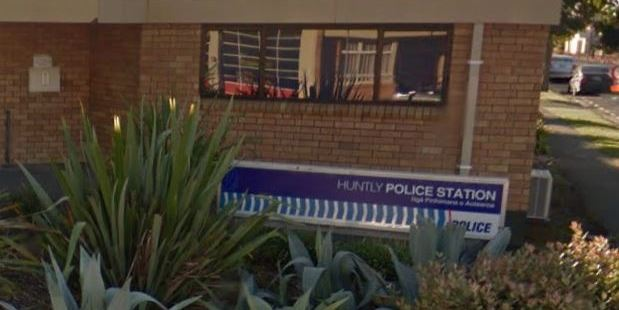 Two police officers have been attacked after a car chase in Huntly overnight. Photo / Google Street View