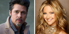 Brad Pitt and Kate Hudson are rumoured to be dating and Kate's brother isn't helping clear anything up. Photos / Supplied