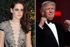 Kristen Stewart says Donald Trump was