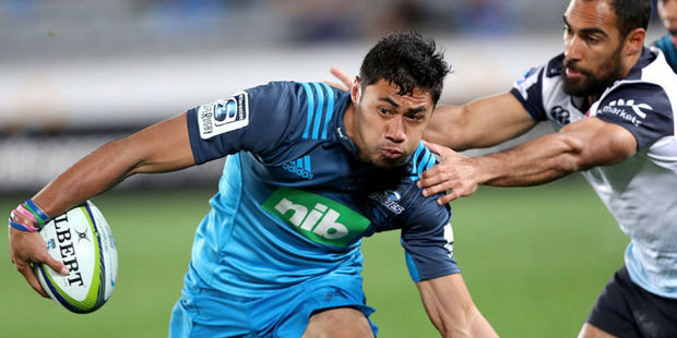 It's understood the Blues' scheduled home competition match against the Reds on June 2 will now be played in Apia. Photo /Getty