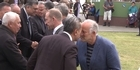 Watch: Watch: Gareth Morgan and Winston Peters trade insults at Ratana Pa Marae