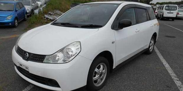Police would like to hear from anyone who may have seen a white 2005 Nissan Wingroad, registration FQL20.