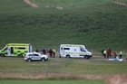 Two skydivers are in serious condition after they crash landed at about 100km/h when a training jump went wrong near Queenstown this morning.  A police spokeswoman said it was reported the tandem skydive pair from NZONE Skydive hit the ground at a speed of around 100kmh in Drift Bay, Queenstown.