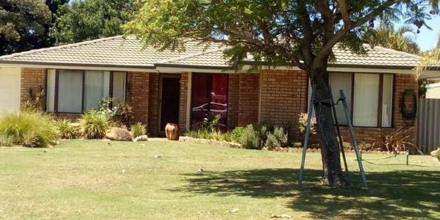 The home was owned by accused killer Bradley Edwards during the time the women went missing. Photo / news.com.au