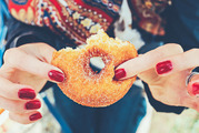 Never go shopping when you're hungry as you're more likely to pick up sugary treats.  Photo / Pexels