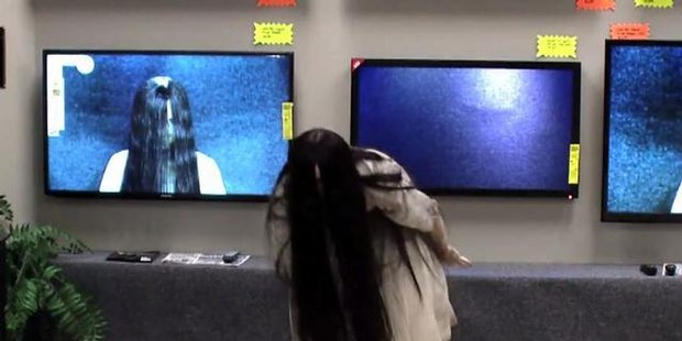 Watch The Ring's Samara pull off scary prank in TV