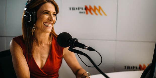 Robin Bailey was not afraid to speak her mind to Pauline Hanson. Photo / Triple M Twitter